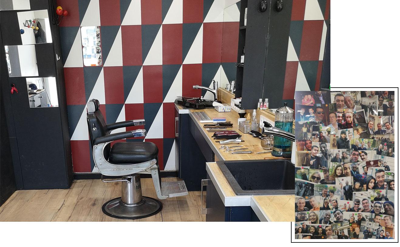 Coiffeur Barbier les Favoris de Paris